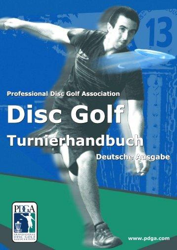 PDGA Turnier-Handbuch 2013 - Scheizer Discgolf Verband