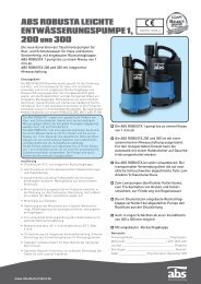 ABS ROBUSTA LIGHT DRAINAGE PUMP 1, 200 and 300 (DE).indd