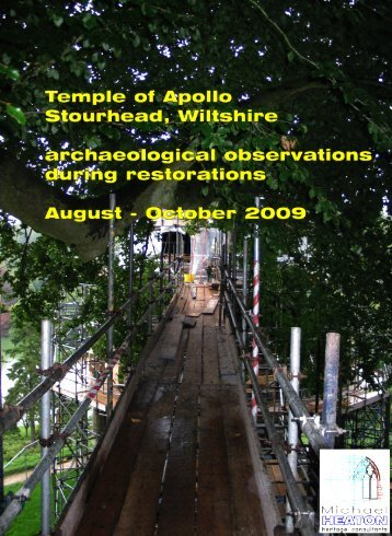 3434 Temple of Apollo, Stourhead. Very interesting assessment of ...