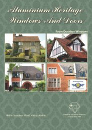 Heritage Windows And Doors - County - The Home Improvers