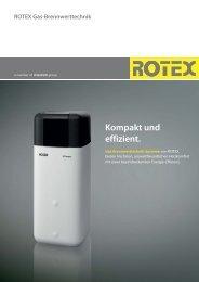 ROTEX Gas-Brennwerttechnik Kompakt und effizient. - Top Design ...
