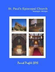 St Pauls parish profile - St Paul's Episcopal Church