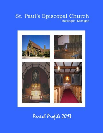 St Pauls parish profile - St Paul's Episcopal Church