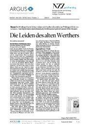 Die Leiden des alten Werthers - Fuxx-online.de