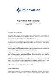 Allgemeine Geschäftsbedingungen - Design