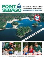 resort • campground - Point Sebago Outdoor Resort