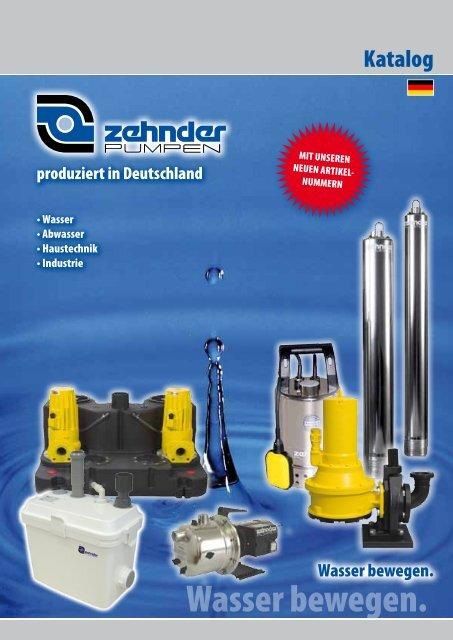 tM 5 zd– schwimmende entnahme - Zehnder Pumpen GmbH