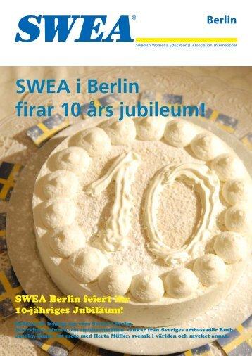 SWEA i Berlin firar 10 års jubileum! - bestregards.se