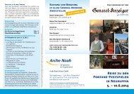 Reise zu den Fontane-Festspielen in Neuruppin 5. – 10.6.2014