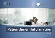 PatientInnen-Information - Tilak
