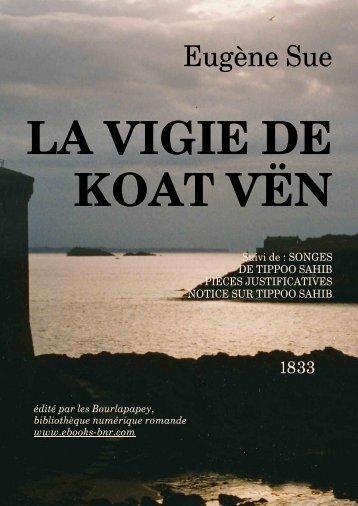 LA VIGIE DE KOAT VËN - Bibliothèque numérique romande