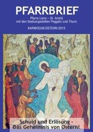 Ostern 2013 - Pfarre St. Andrä