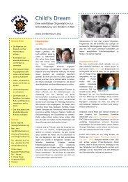 Juli 2006 - Child's Dream