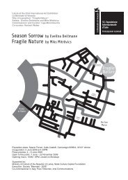 Latvia at the 53rd International Art Exhibition La Biennale di Venezia ...