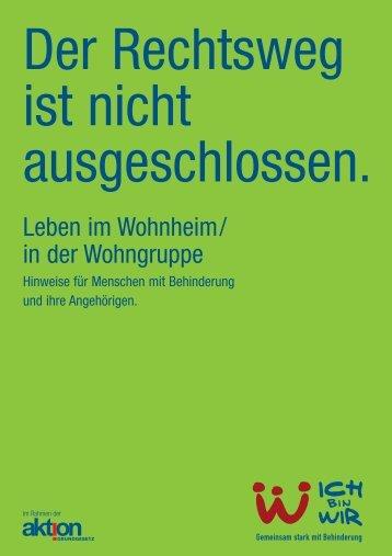 Leben im Wohnheim/in der Wohngruppe - Verein für Körper- und ...