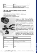 Halogen-Lichtquellen - OptoPolymer - Seite 4