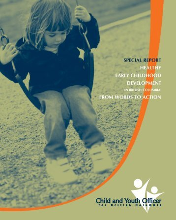 Healthy Early Childhood Development in British Columbia
