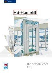PS Homelift - P+S Aufzüge GmbH