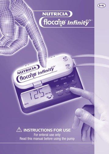 Gebruiksaanwijzing Flocare Infinity - Sorgente