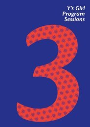 Section 3 – Y's Girl Program Sessions - YWCA