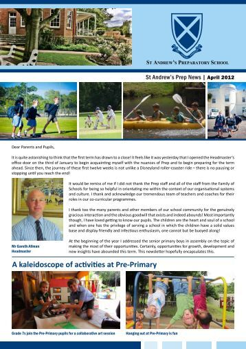 PREP Headmasters Newsletter March April 2012.pdf - St Andrew's ...