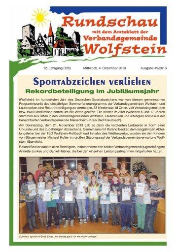 KW 49 - Verbandsgemeinde Wolfstein