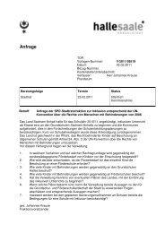 Anfrage der SPD-Stadtratsfraktion zur Inklusion entsprechend der ...