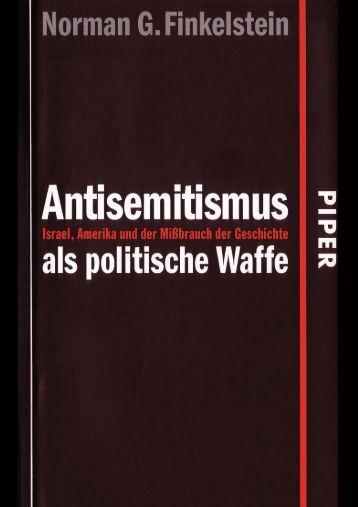 finkelstein-antisemitismus-als-politische-waffe-2005 - T-Online