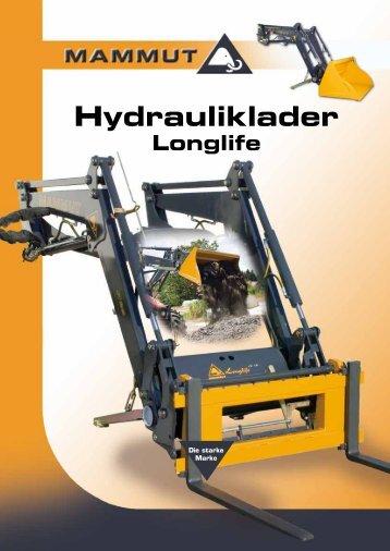 Hydrauliklader Longlife - Mammut