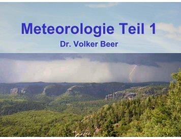 Meteorologie Teil 1 - Leipzig