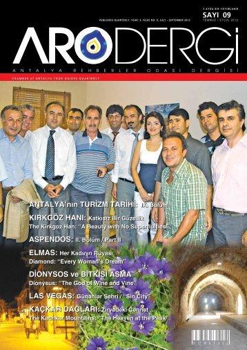KAÇKAR DAĞLARI - Antalya Rehberler Odası