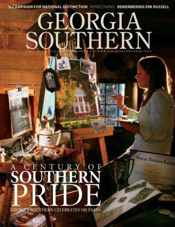 ON THE WEB - Georgia Southern University