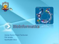 Bioinformatics - Blog Staff UI