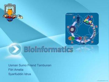 Bioinformatics - Blog Staff UI