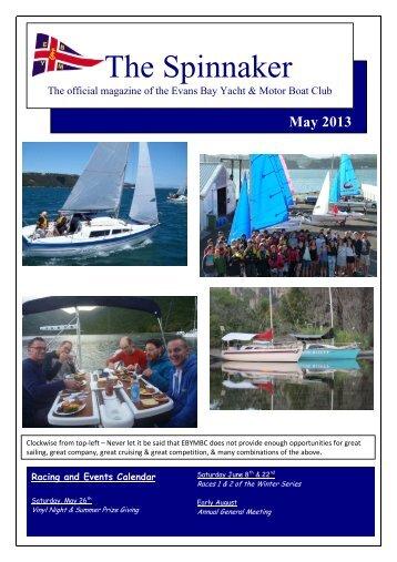 May 2013 - Evans Bay Yacht & Motor Boat Club