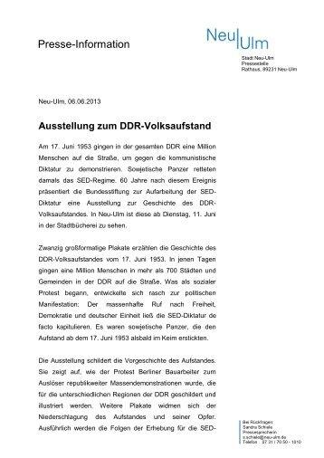 Presse-Information - Stadt Neu-Ulm