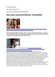 Die neue schwul-lesbische Normalität - Villa anders