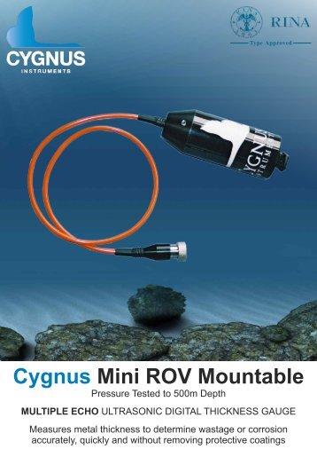 Cygnus Mini ROV Brochure - GMS Instruments