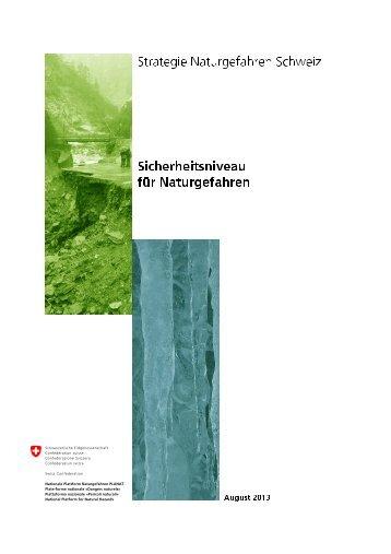 Sicherheitsniveau für Naturgefahren (deutsch) - Planat