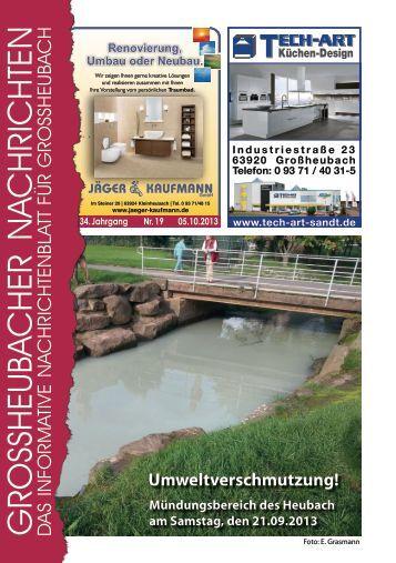 Großheubacher Nachrichten Ausgabe 19-2013 - STOPTEG Print ...