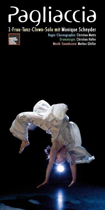 Pagliaccia - Monique Schnyder Visual Theatre
