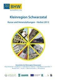 Bildungskalender Herbst 2013 - Stadtgemeinde Ternitz