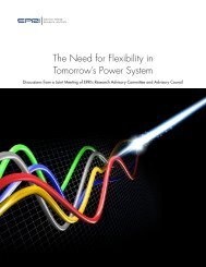 The Need for Flexibility in Tomorrow's Power System - Power Across ...