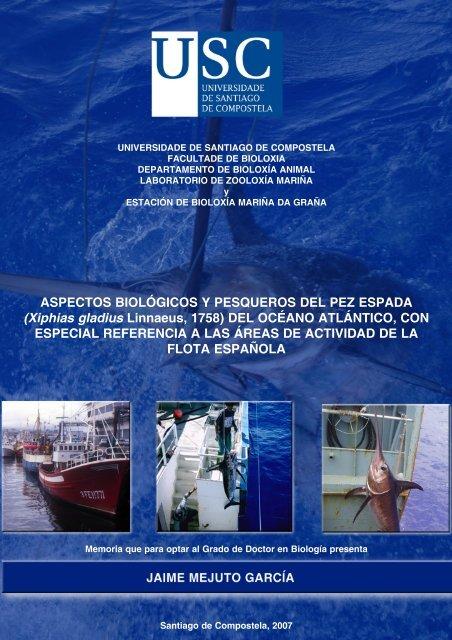 Aspectos biológicos y pesqueros del pez espada - Centro ...