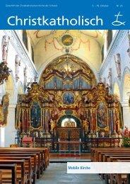 Gemeindenachrichten - Christkatholische Kirche der Schweiz