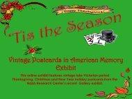 Tis the Season: Vintage Postcards in American Memory - Research ...