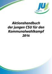 Aktionshandbuch - Junge Union Bayern