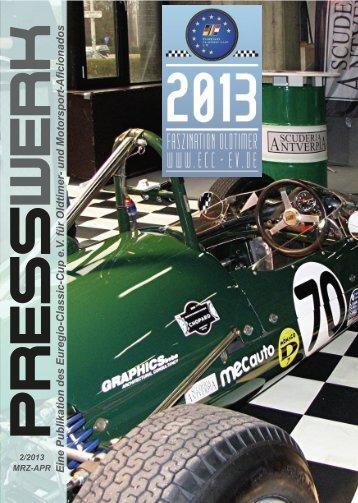 PRESSWERK Vol. 2/2013 - Euregio-Classic-Cup