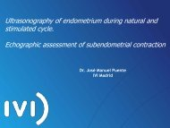 Echographic assessment of subendometrial contraction - eshre
