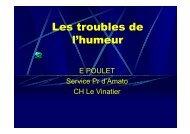 COPN 2009 - Troubles de l'humeur -EP